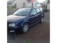 Volkswagen Golf 1.6 S (petrol) for spares or repairs