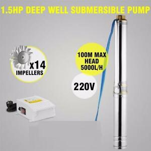 ON SALE ! 1.5 HP DEEP WELL SUBMERSIBLE PUMP 4 IN $149.95 EA