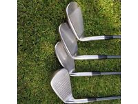 Assorted Golf Clubs - Including Drivers, Irons (some rare from Japan)