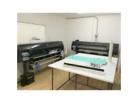 """Two Large Format printers - HP LATEX 60"""" and HP Z6200 60"""" - one price!"""