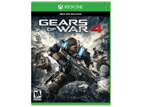 XBOX ONE GAME , GEARS OF WAR 4 BOXED HDR READY, IN BRAND NEW CONDITION NEVER PLAYED IT SINCE NEW