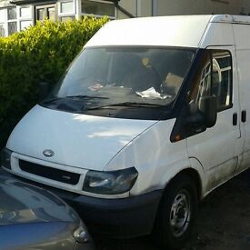 Ford transit lwb great solid van