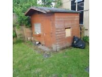 6ft x 8ft Used Garden Shed