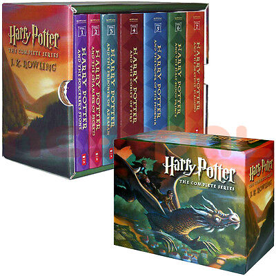 NEW Harry Potter The Complete Series Boxed Set by J. K. Rowling (Paperback)