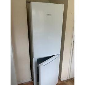 BOSCH fridge freezer - nearly new