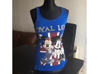 "Vintage Disney vest ""royal love"" size 8"