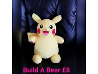 Build A Bear Pokemon