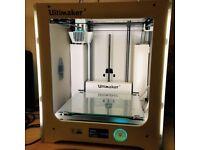 ULTIMAKER 3 - 3D PRINTER DUAL CORE - MULTI-MATERIAL