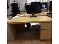 COMPUTER OFFICE DESK FREE DELIVERY