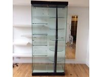 Large glass shop display cabinet for sale