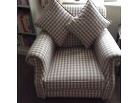 Almost New DFS Armchair for sale due to downsizing.