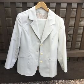 Two piece suit, size 12