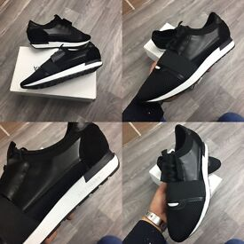 Men's designer trainers all boxed new