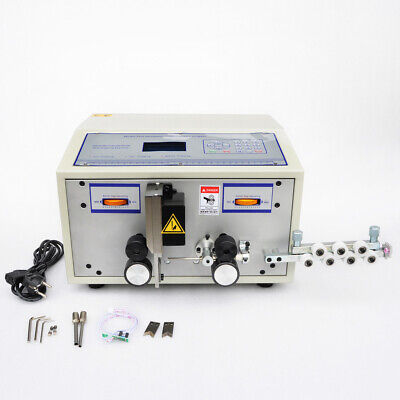Efle 220v Automatic Computer Wire Peeling Stripping Cutting Machine 0.1-2.5mm