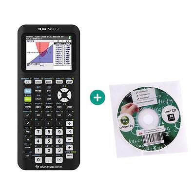 TI 84 Plus CE-T Taschenrechner Grafikrechner + Lern-CD ()