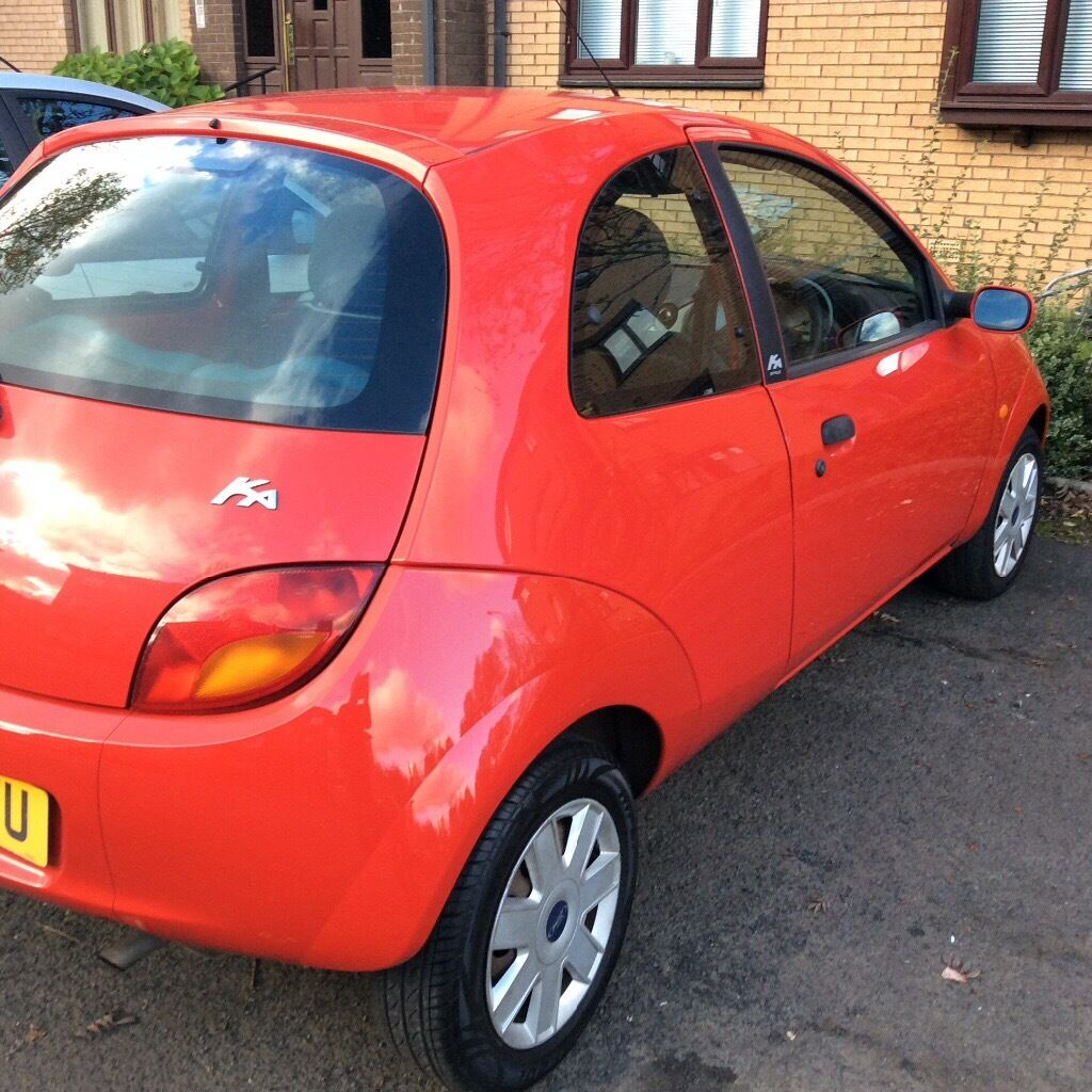 Ka 1300 sport coupe lady owner 1 yrs mot gorgeous car great gift