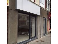 Large Shop On Salisbury Road For Rent. Newly Refurbished, Vibrant/Sought After location.