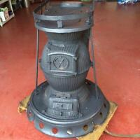 Pot belly iron stove (CNR)