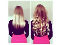 Hair Extensions in Great Denham: Nano Rings, Micro Rings, Micro Fusion Bonds