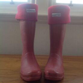 Young Hunter Wellington boots