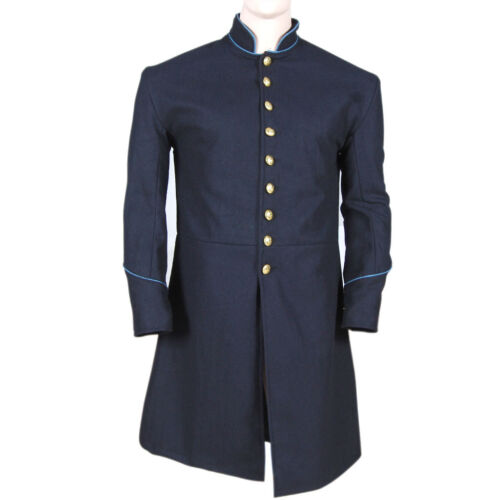 US Civil war Union Enlisted Federal Infantry Single Breasted Frock Coat-All Size