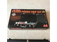 Las Vegas Poker Chip Set