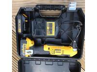 18v Dewalt angled drill