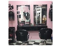 RENT A CHAIR IN OUR HAIR SALON from £60 P/W