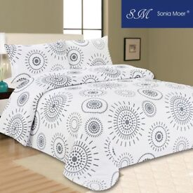 Sonia Moer Premium Duvet Cover Set by Indian Ink - Single