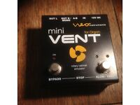 Mini Vent - Rotary Cabinet Simulator and MOOER ShimVerb Reverb Pedal for sale.