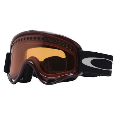 de22a69a30 Oakley 02-441 O FRAME Berry Red w  Persimmon Lens Mens Boys Snow Ski Goggles