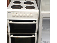 BEKO ELECTRIC COOKER DOUBLE OVEN, FREE DELIVERY