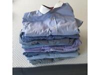 Stack of sz 16 men's shirts