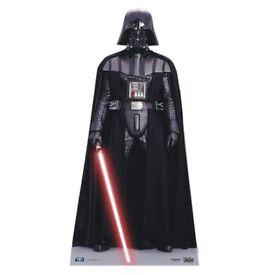 Star Wars Darth Vader life-size cardboard cutout