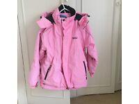 Girl's Pink Ski Jacket