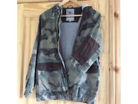 BOYS CAMOUFLAGE JACKET 14/15 YEARS