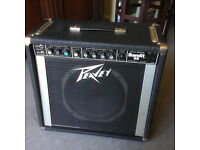 Peavey Bandit 65 Solo Series Guitar Amplifier for sale USA 80s with original pedal & operating guide