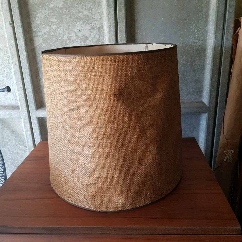 Large vintage lamp shade in hastings east sussex gumtree large vintage lamp shade mozeypictures
