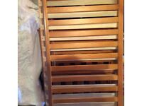 Mothercare James town pine cot bed with mattress great condition
