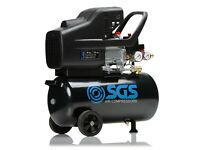 S.G.S. AIR COMPRESSOR 24 LTR AS NEW