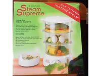 Hinari Steam Supreme Triple Tier Steamer Model No ST427NV