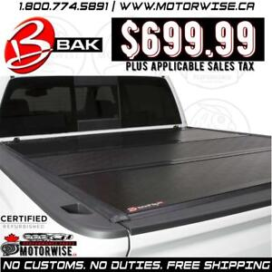 "BAKFlip 6'6"" G2 Hard Folding Tonneau Cover for 2014-2018 Silverado and Sierra 1500 