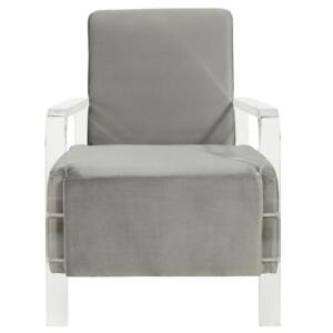 Clear Grey Accent Chair Sale-WO 7722 (BD-2566)