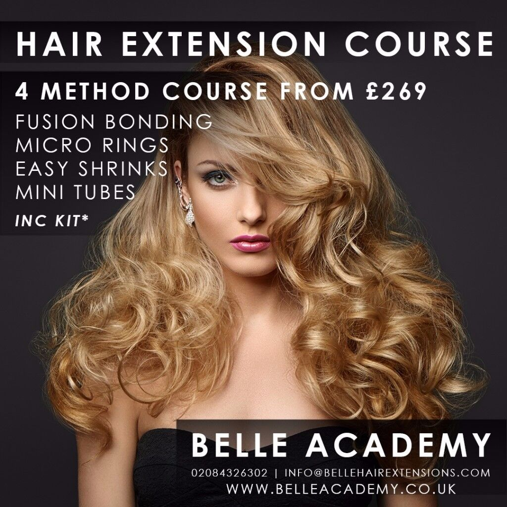 Hair extension courses all inclusive of training certification image 1 of 9 pmusecretfo Gallery