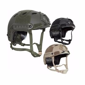 Valken V-Tac Airsoft Fast Style Helmet ATH Type P Adjustable Velcro Flash Panels