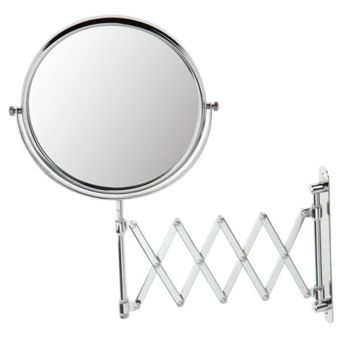3x Magnifying Double Side Makeup Mirror Compact Cosmetic Bat
