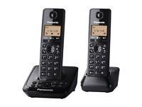 Panasonic KX-TG2722 DECT Cordless Phone With Answering Machine - Twin