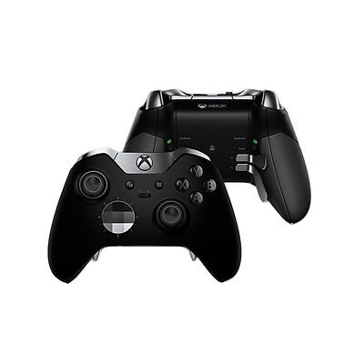 Official Microsoft Xbox One Elite Wireless Controller - Black - HM3-00001