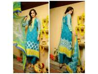 Lala Classic Crinkle Lawn unstitched