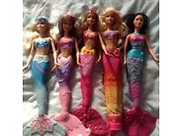 5 stunning quality Barbie dolls from Barbie in a mermaid tale 2